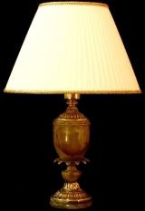 Лампа настольная из оникса
