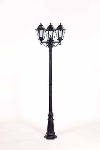 Уличное освещение Oasis Light. Столб 3-х головый 2,1 м