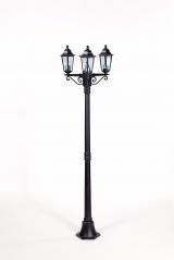 Уличное освещение Oasis Light. Столб 3х головый 1,85 м