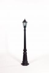 Уличное освещение Oasis Light. Столб на большой основе 1,6 м